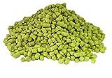 Hallertau Blanc Hop Pellets | 100 g de la variedad de pellets alemanes más fresca 2019 | Ingredientes orgánicos para hacer cerveza artesanal, cerveza