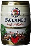 Paulaner Hefe-Weissbier Naturtrüb 5,5% vol Partido estaño 5 litros