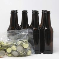 Material embotellado de cerveza