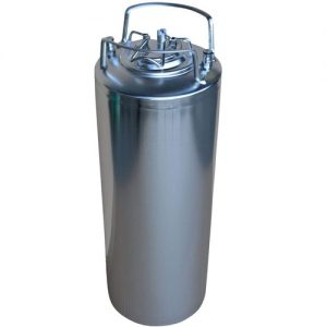 barril de cerveza inox